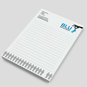 A5 Notepad – Printed Sheets